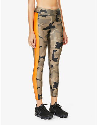 Koral Dynamic Duo Infinity camo-print high-rise stretch-jersey leggings