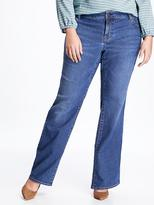 Old Navy Mid-Rise Plus-Size Boot-Cut Jeans