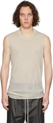 Rick Owens Off-White Basic Tank Top