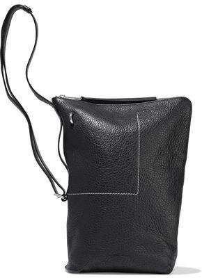 Rick Owens Textured-leather Bucket Bag