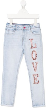 Billieblush Love skinny jeans
