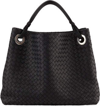 Bottega Veneta Garda Large Woven Leather Tote Bag