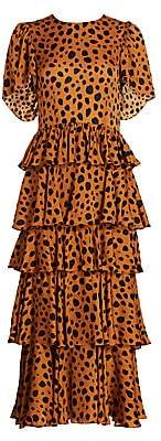 Rhode Resort Women's Serena Cheetah Print Dress