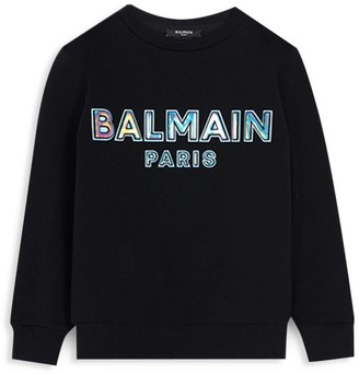 Balmain Little Kid's & Kid's 3D Logo Sweatshirt
