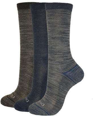 Dickies Women's 3-Pack Soft Light Wool Keeps Feet Dry All Year Crew