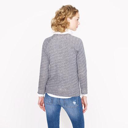 J.Crew Collection embellished raglan sweatshirt