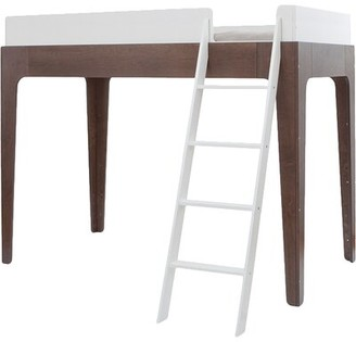 Oeuf Perch Full Loft Bed Color: Walnut
