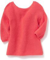 Old Navy Cross-Back Sweater for Toddler Girls
