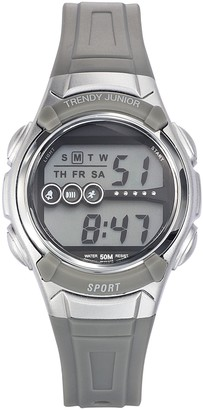 Trendy Junior Boys Digital Quartz Watch with Plastic Strap KL 370