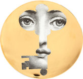 "Fornasetti Face in Key"" Plate"