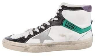 Golden Goose 2.12 Distressed Sneakers