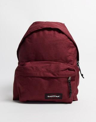 Eastpak padded pak'r backpack in burgundy