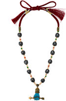 Gucci Hand Charm Beaded Necklace