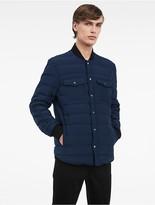 Calvin Klein Platinum Lightweight Quilted Down Jacket