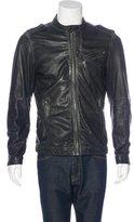 Diesel Leather Field Jacket