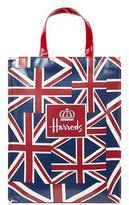 Harrods Medium Vintage Flag Shopper Bag