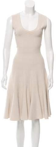 Alaia Knit A-Line Dress