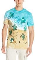 Liquid Blue Men's Turtle Beach T-Shirt