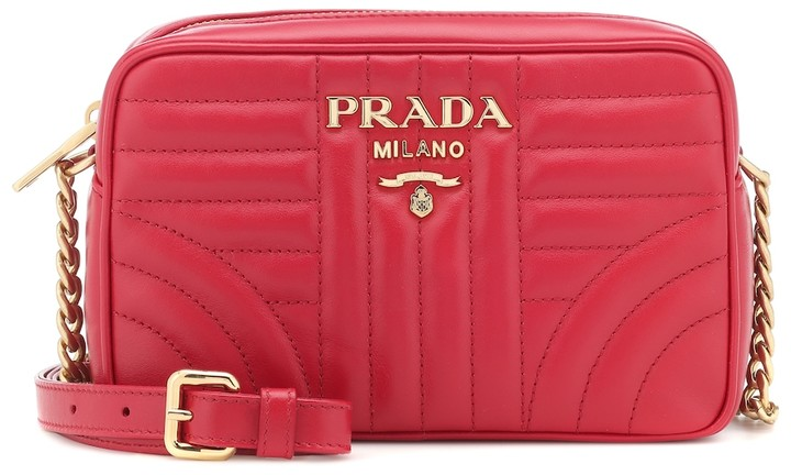 354b248c9 Prada Red Leather Crossbody Bags For Women - ShopStyle Canada