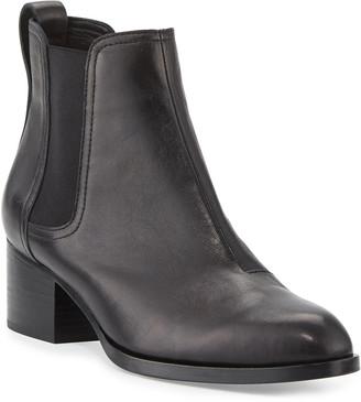 Rag & Bone Walker Leather Chelsea Boots, Black