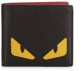 Fendi Bag Bugs Bi-fold Leather Wallet