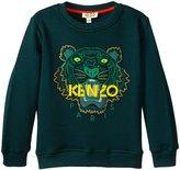 Kenzo Alanis Sweater (Toddler/Kid) - Emerald - 3 Years