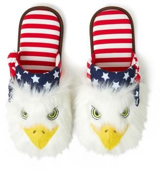 Dearfoams Unisex Americana Closed Toe Scuff slippers