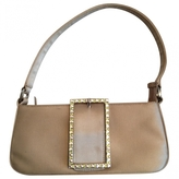 Jimmy Choo Beige Silk Handbag