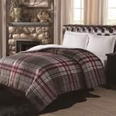 Remington Supreme Velvet Plaid Reversible Comforter