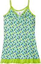 Zutano Lucky You Ruffle Hem Dress (Toddler) - Multicolor-4T