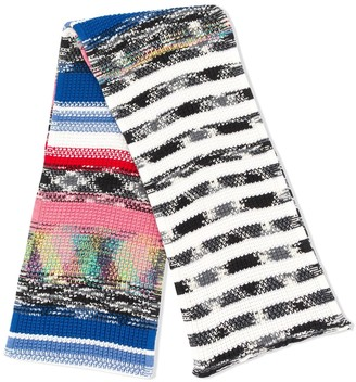 Missoni Marl Knit Stripe Scarf