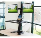 Mount-it Electric Height Adjustable Standing Desk Converter Mount-it