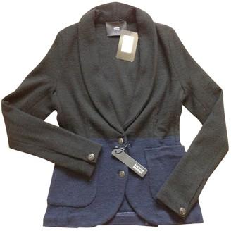 Steffen Schraut Black Wool Coat for Women