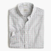 J.Crew Secret Wash shirt in espresso tattersall
