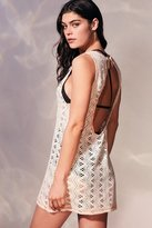 Out From Under Crochet Scoop Neck Beach Cover-Up