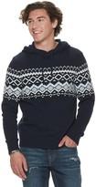 Men's Urban Pipeline Knit Sweater Hoodie