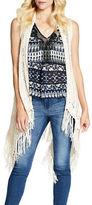 Jessica Simpson Hera Crocheted Vest