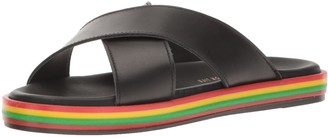 LFL by Lust for Life Women's Li-Rainbow Flat Sandal