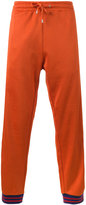 Gucci Technical GG Web track trousers - men - Cotton/Polyamide/Polyester/Wool - S