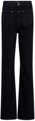 KHAITE Isabella high-rise straight jeans