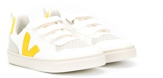 VEJA KIDS Tonic touch-strap sneakers