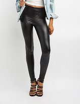 Charlotte Russe High Rise Liquid Leggings