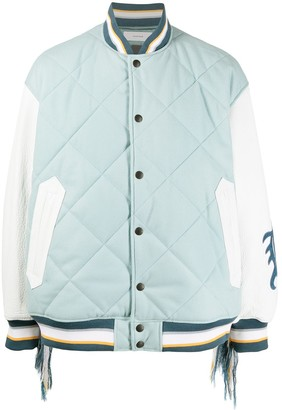 Facetasm Quilted Varsity Jacket
