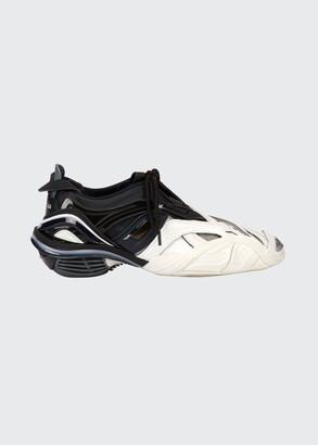 Balenciaga Tyrex Colorblock Asymmetric Sneakers