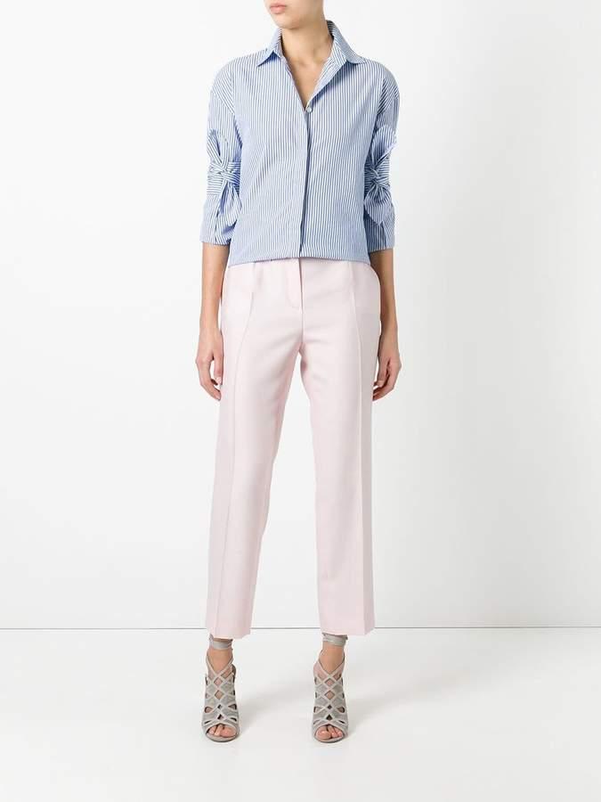 Salvatore Ferragamo cropped trousers
