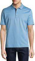 Robert Graham Turnell Cotton Polo Shirt, Blue