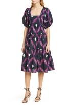 Ulla Johnson Nora Puff Sleeve Midi Dress