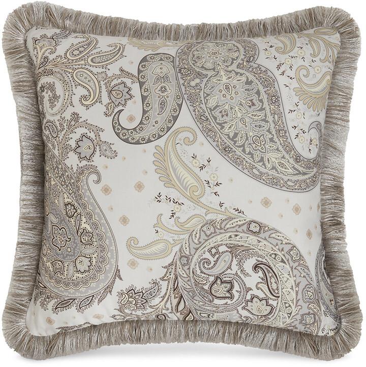 Etro Harrison Newark Cushion With Passementerie - Grey - 45x45cm