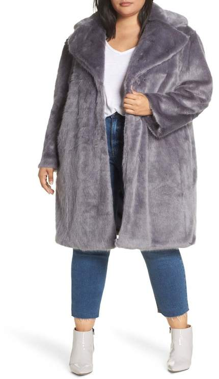 7d1c6845771b Plus Size Faux Fur Coats - ShopStyle