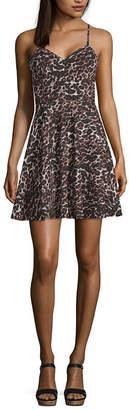 City Triangle Social Sleeveless Party Dress-Juniors